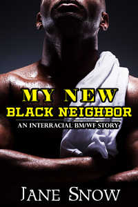 cover design for the book entitled My New Black Neighbor