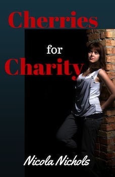 cover design for the book entitled Cherries for Charity