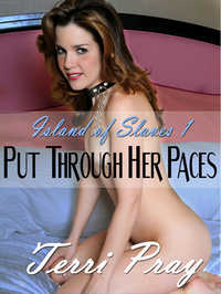 cover design for the book entitled Put Through Her Paces