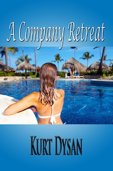 cover design for the book entitled A Company Retreat