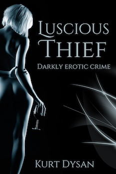 cover design for the book entitled Luscious Thief