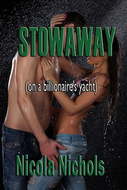 cover design for the book entitled Stowaway