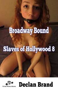 cover design for the book entitled SLAVES OF HOLLYWOOD 8