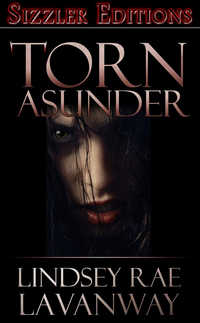 cover design for the book entitled TORN ASUNDER