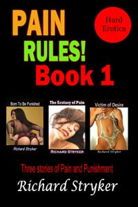 cover design for the book entitled Pain Rules! Book 1