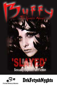 cover design for the book entitled BUFFY The Vampire Slayer - SLAYED!