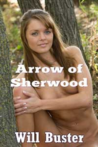 cover design for the book entitled Arrow of Sherwood