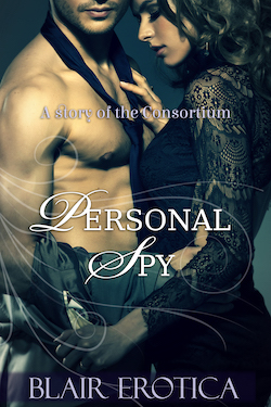 cover design for the book entitled Personal Spy