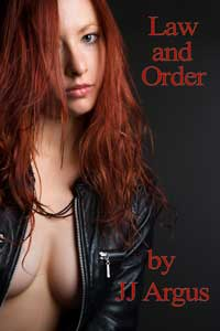 cover design for the book entitled Law And Order