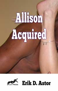 cover design for the book entitled Allison Acquired