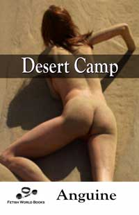 cover design for the book entitled Desert Camp