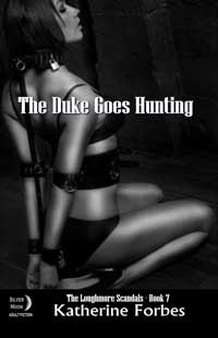 cover design for the book entitled The Duke Goes Hunting