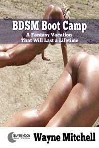 cover design for the book entitled BDSM Boot Camp