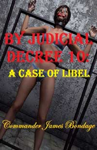 cover design for the book entitled By Judicial Decree 10: