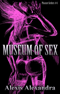 cover design for the book entitled Museum of Sex