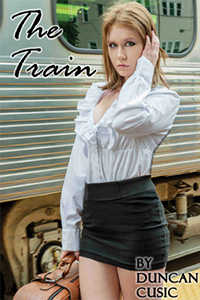 cover design for the book entitled The Train