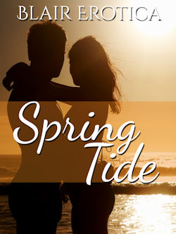 cover design for the book entitled Spring Tide