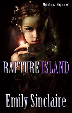cover design for the book entitled Rapture Island