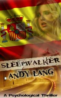 cover design for the book entitled Sleepwalker
