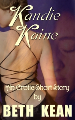 cover design for the book entitled Kandie Kaine