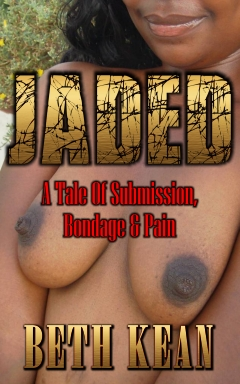 cover design for the book entitled Jaded