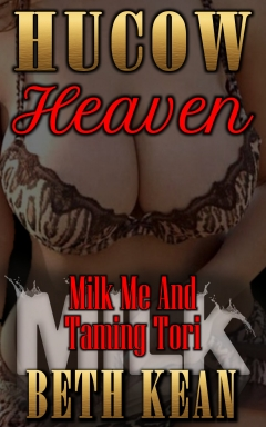 cover design for the book entitled Hucow Heaven