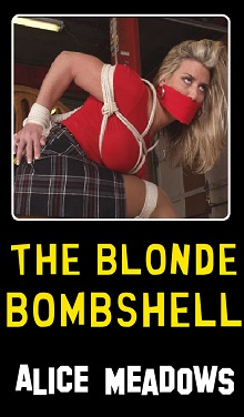 cover design for the book entitled The Blonde Bombshell