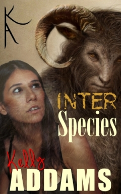 cover design for the book entitled Inter Species