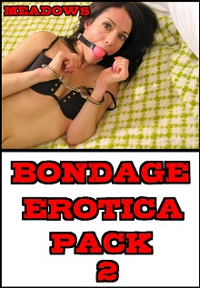 cover design for the book entitled Bondage Erotica Pack 2