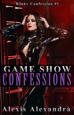 cover design for the book entitled Game Show Confessions