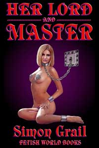 cover design for the book entitled Her Lord and Master