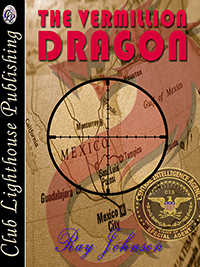 cover design for the book entitled The Vermillion Dragon