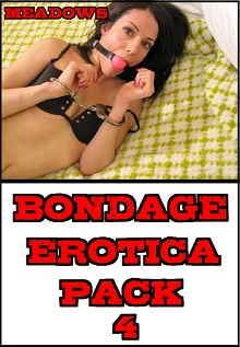 cover design for the book entitled Bondage Erotica Pack 4