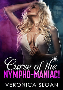 cover design for the book entitled Curse of the Nymphomaniac