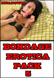 cover design for the book entitled Bondage Erotica Pack 5