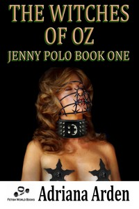 cover design for the book entitled Jenny Polo Book One: The Witches of Oz