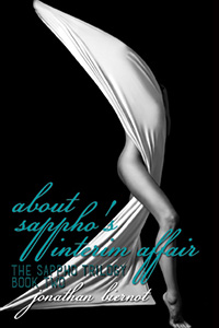 cover design for the book entitled About Sappho's Interim Affair: The Sappho Trilogy, Book Two