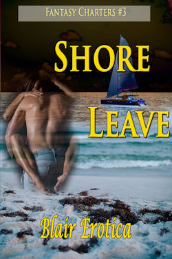 cover design for the book entitled Shore Leave
