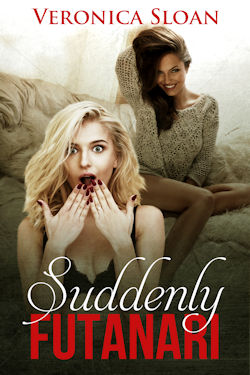 cover design for the book entitled Suddenly Futanari