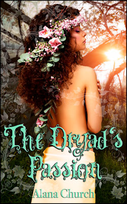 cover design for the book entitled The Dryad