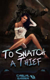 cover design for the book entitled To Snatch a Thief