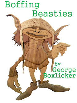 cover design for the book entitled Boffing Beasties