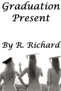 cover design for the book entitled Graduation Present
