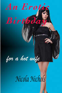 cover design for the book entitled An Erotic Birthday