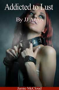 cover design for the book entitled Addicted To Lust