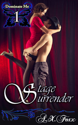 cover design for the book entitled Stage Surrender