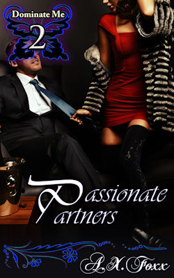 cover design for the book entitled Passionate Partners