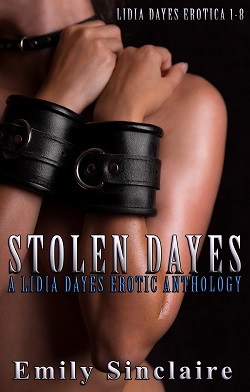 cover design for the book entitled Stolen Dayes