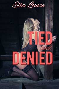 cover design for the book entitled Tied And Denied