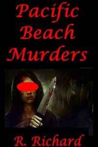 cover design for the book entitled Pacific Beach Murders